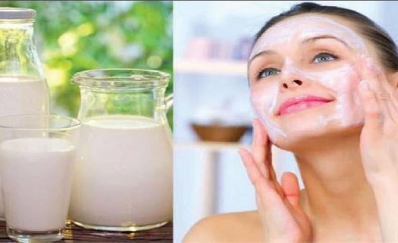 raw milk for skin
