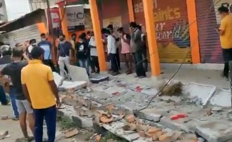 भूकंपाने आसाम हादरले; 6.4 रिश्टर स्केलचे धक्के, इमारतींना तडे