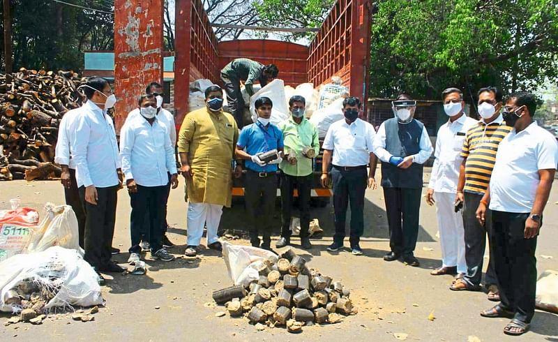 biocoal buckets in nashik amardham