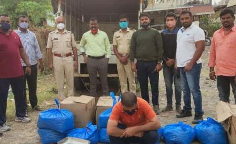 Seven and a half lakh cannabis seized in Shrirampur city