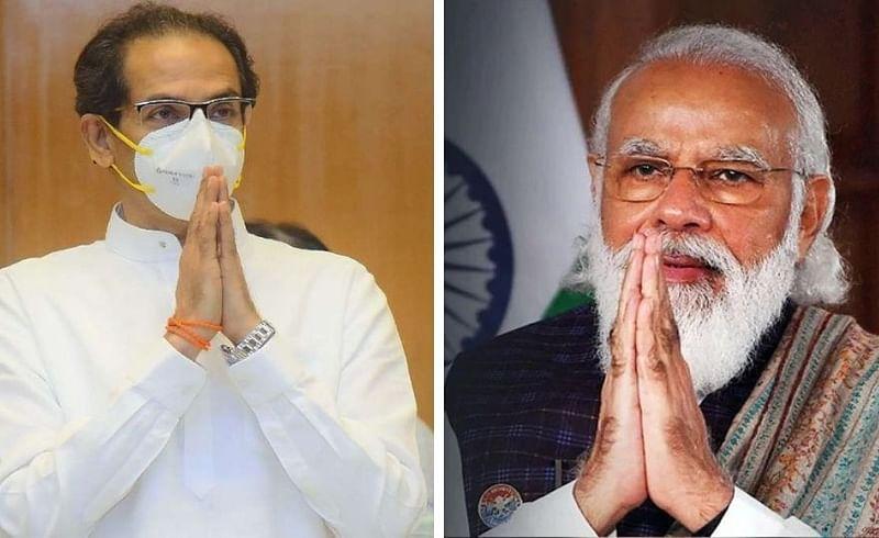 Uddhav Thackeray and PM Modi