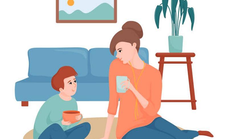 कोरोना झाल्याचं लहान मुलांना कसं सांगाल?
