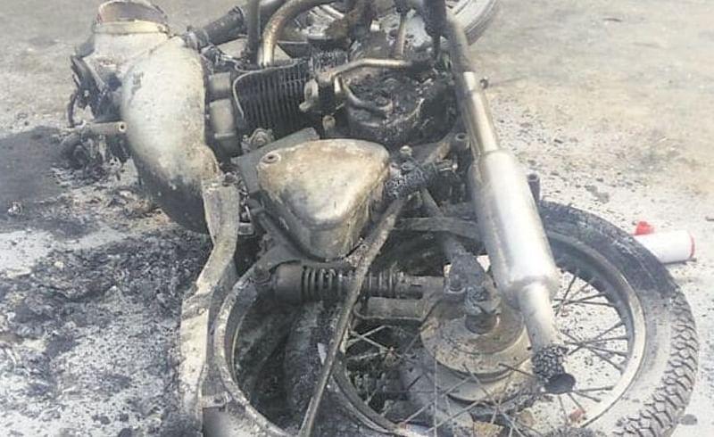 bikes fire