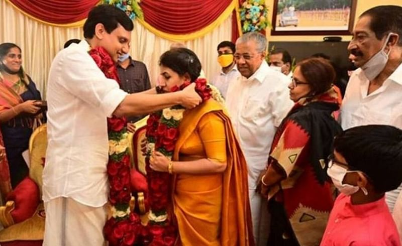 Veena and Riyas got married in 15 june 2020