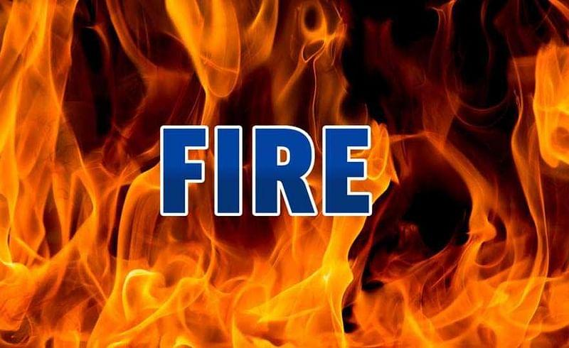 आग लागुन घर जळाले