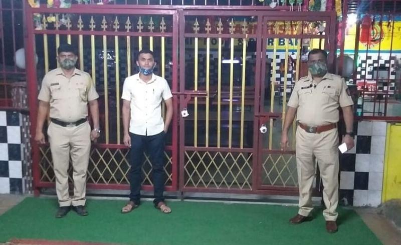 पुणे-मुंबई महामार्गावरील ढाबा पोलिसांकडून सील