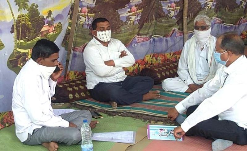 Gram Panchayat office at Motala