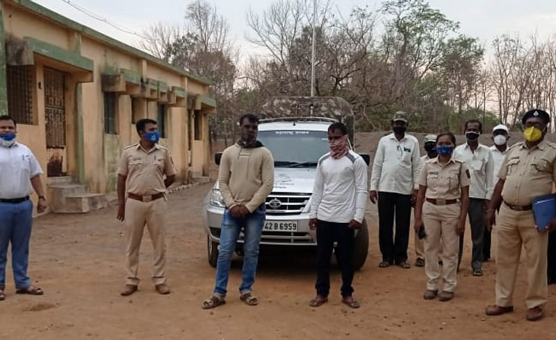 Forest department arrests two poachers in Indapur trying to hunt Bengal Fox