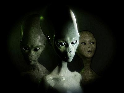 aliens in deep oceans