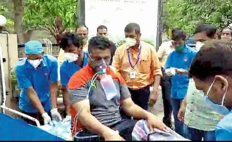 Oxygen shortages in hospitals followed by remdesivir injection Nashhik Marathi news