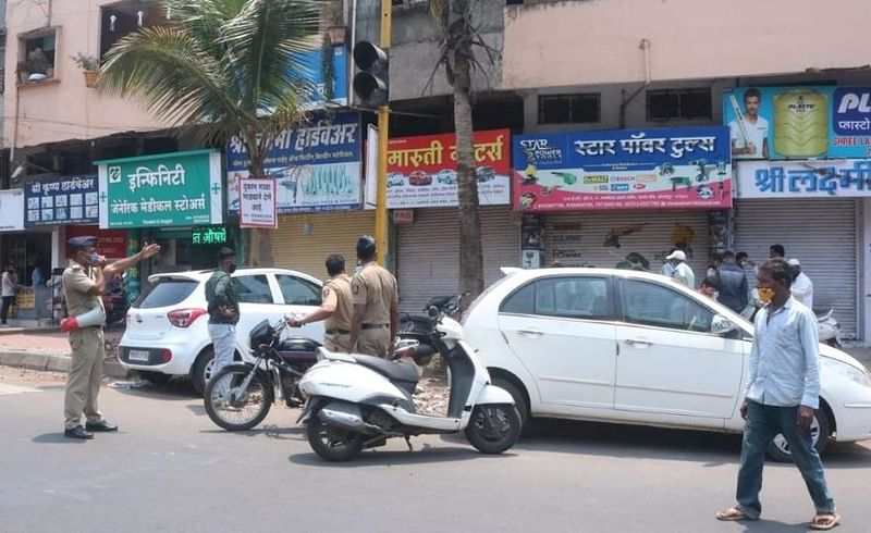 after 3 pm shops closed down in kolhapur decision of chambers of commerce