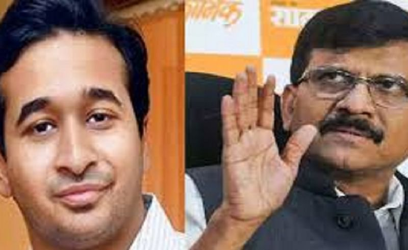 nitesh rane tweet in social media such a mockery MP Sanjay Raut tweet