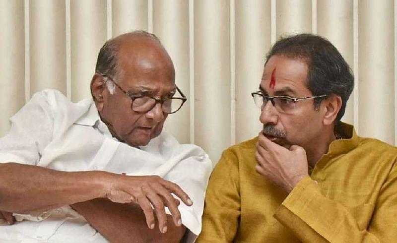 महाराष्ट्रात पुन्हा येणार मोठा राजकीय भूकंप ? शरद पवारांची मातोश्रीवर हजेरी, दीड तास चर्चा...