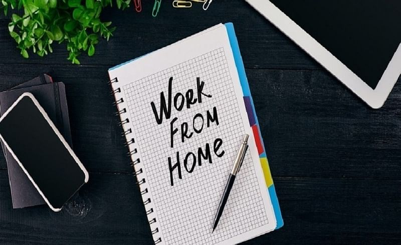 work from home handle home work and health
