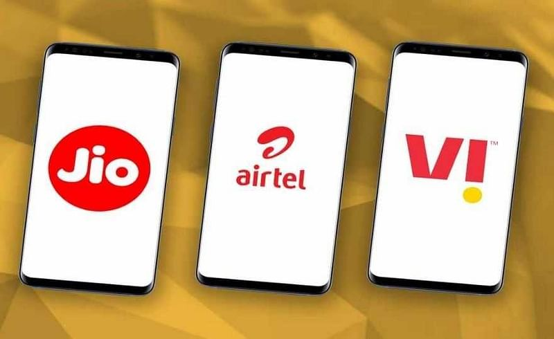 Best prepaid recharge plans from jio airtel and vi vodafone idea under 100 rupees.jpg