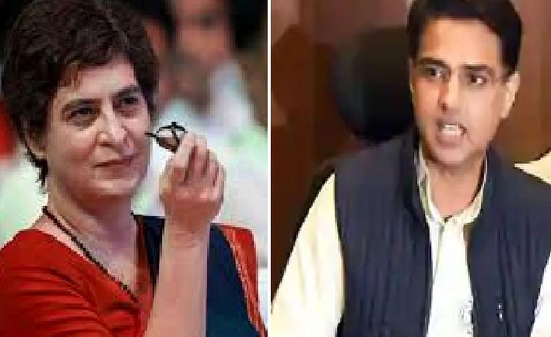 Ashok Gehlot, Sachin Pilot,priyanka gandhi