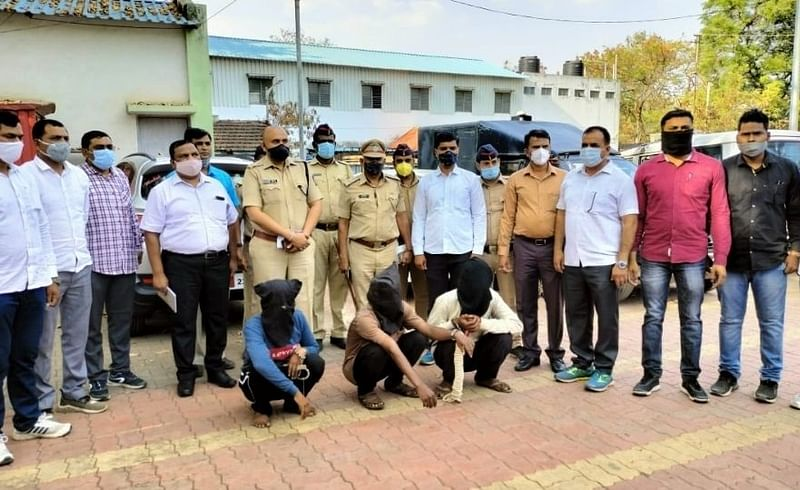 Police have uncovered the Nandgaon Wakhari Murder case Nashik Crime News