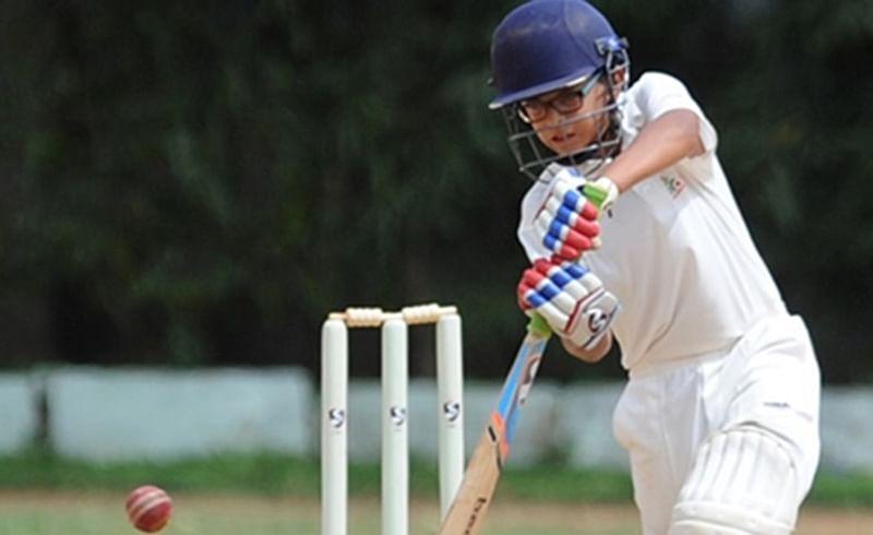 Rahul Dravids son Samit hits double ton