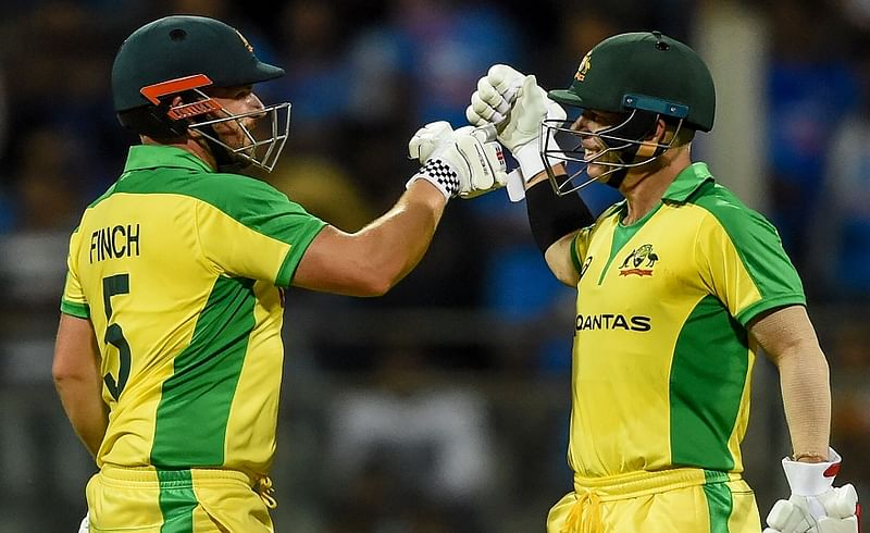 australia won by 10 wickets first odi against india mumbai 2020