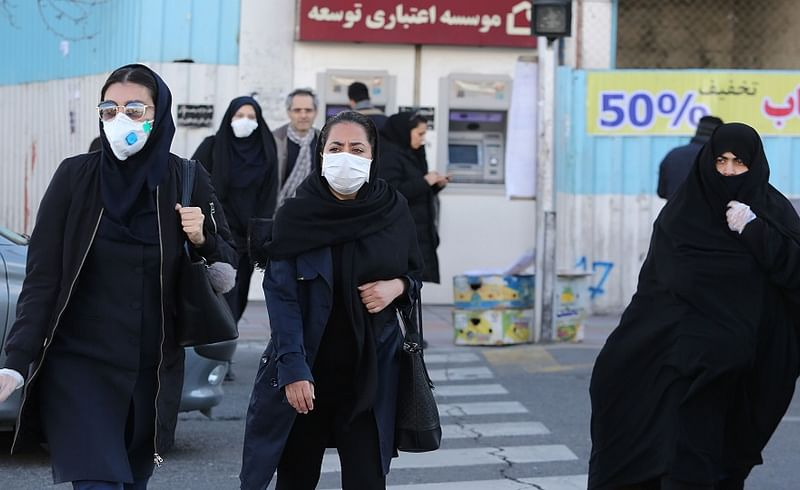 coronavirus iran situation 77 dead more than two thousand infected
