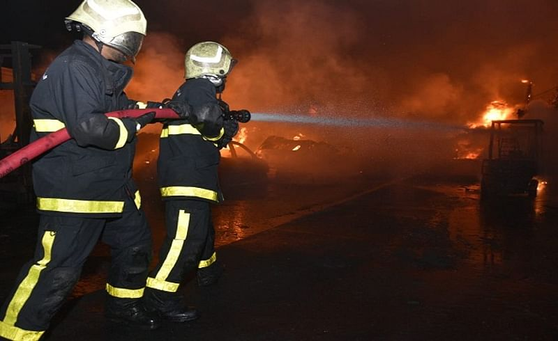 Weltweit fire in Wadi The hospital starts with dust in the eyes of the administration