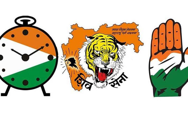 expected portfolio of shiv sena ncp congress government in maharashtra
