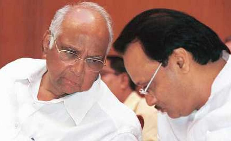 Sharad pawar clarifies about Ajit Pawar on he takes oath as dy CM