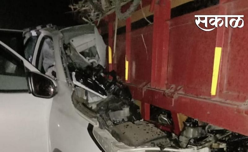 3 killed, 2 injured in accident at Dalaj of family who came to Pune for shopping