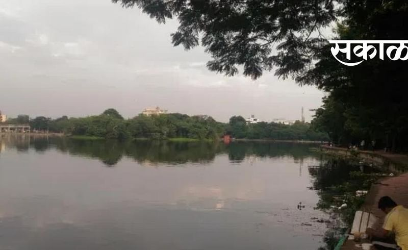 Dhampur Lake in Maharashtra is one of the historical monuments of India.jpg