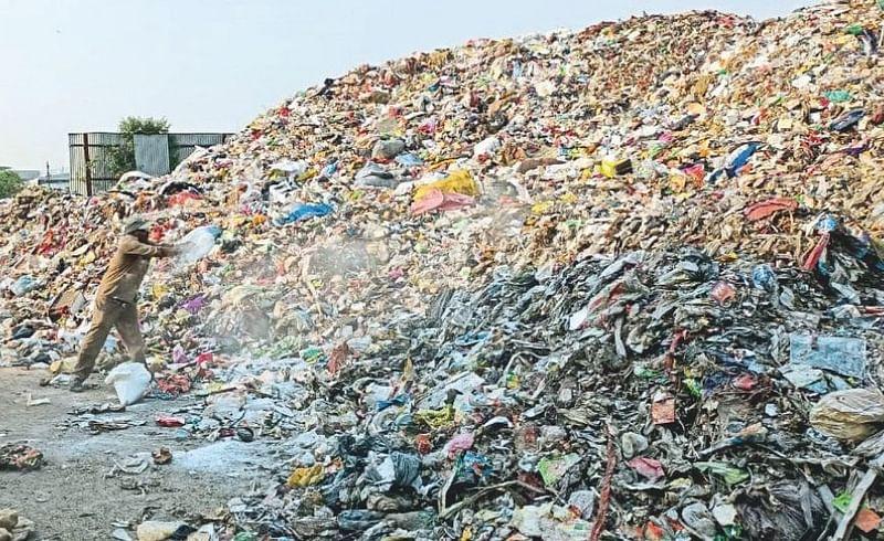The Ramtekdi project 60000 tons garbage