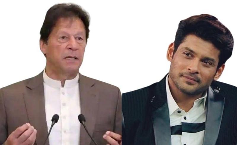 actor  sidharth  shukla  reacts   Pakistan  pm  Imran  khan  comment rape  cases.jpg