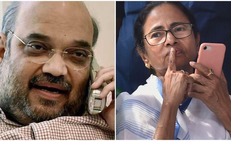 Amit Shah, Mamata Banerjee, Cyclone Amphan
