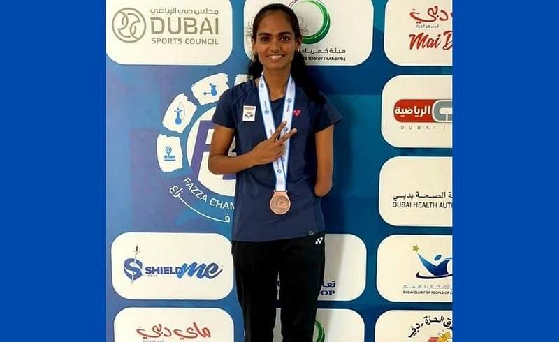 Aarti Patil wins bronze at International Badminton Championships sport marathi news