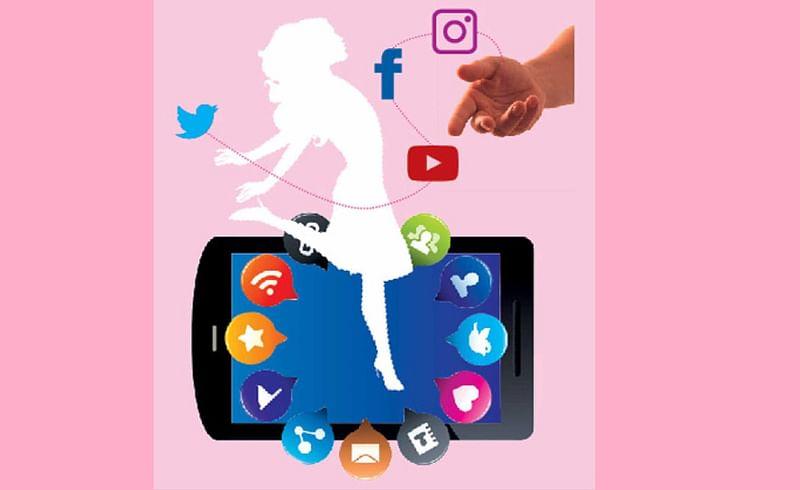 Girls business through social media