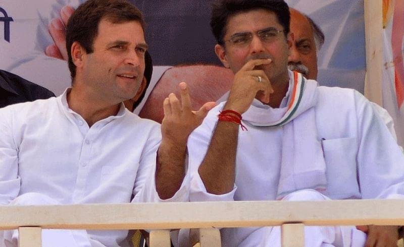 rahul gandhi and sachin pilot.
