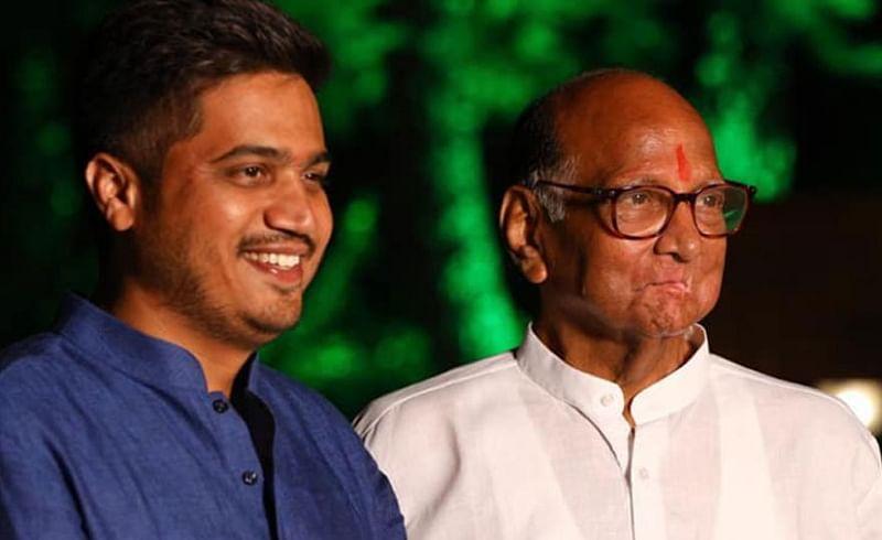 Rohit Pawar, Sharad Pawar