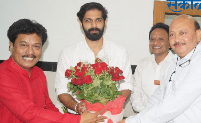 MNS leader Amit Thackeray criticized Shivsena in Nagpur