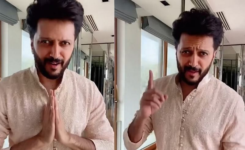 Actor Riteish Deshmukh marathi song video viral.jpg