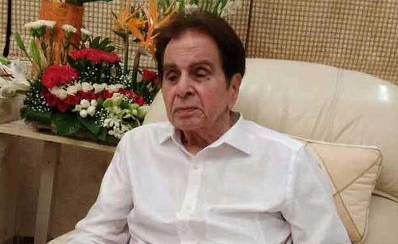 Saira Banu says Dilip Kumars condition has improved