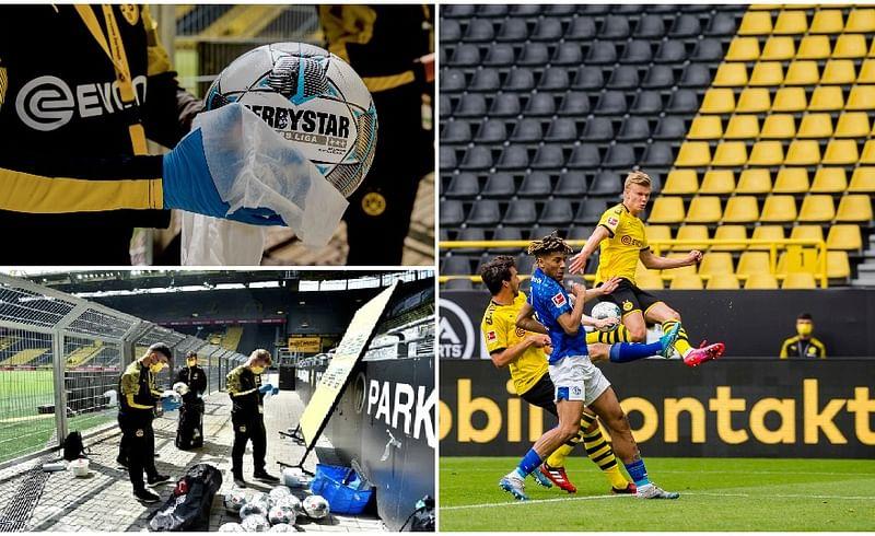 borussia dortmund,schalke bundesliga,german football league