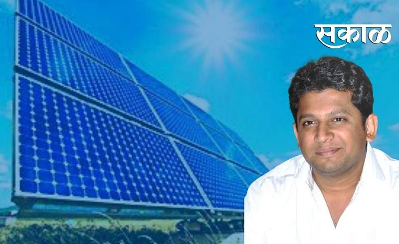 MP Dr. Sujay Vikhe Patil has done suggested to start the work of solar energy project soon.jpg