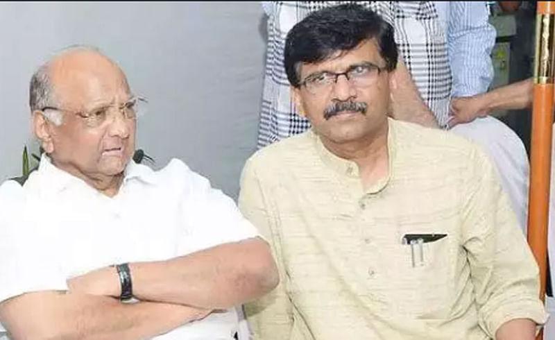 Sharad Pawar recahed Leelavati hospital to meet Sanjay Raut
