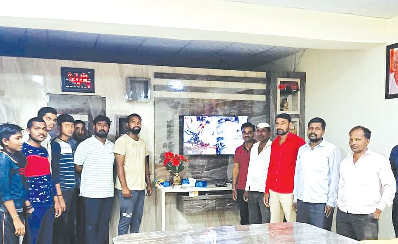 CCTV camera in Zare village in Solapur district