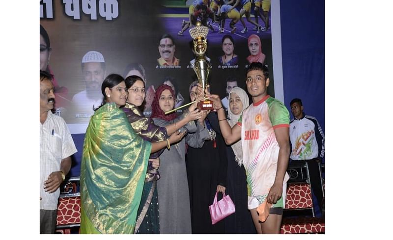 Ajara Nagaradhyaksh Cup Winer Shahu Sadoli Team Kolhapur Marathi News