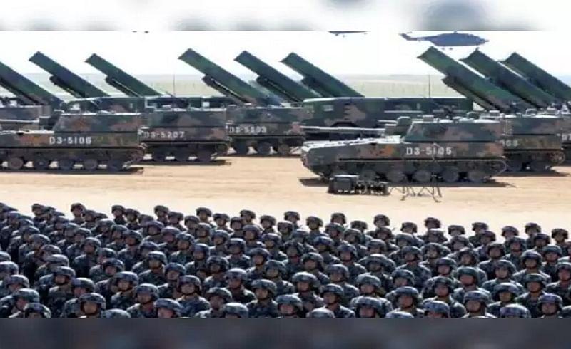 China, defense budget, India