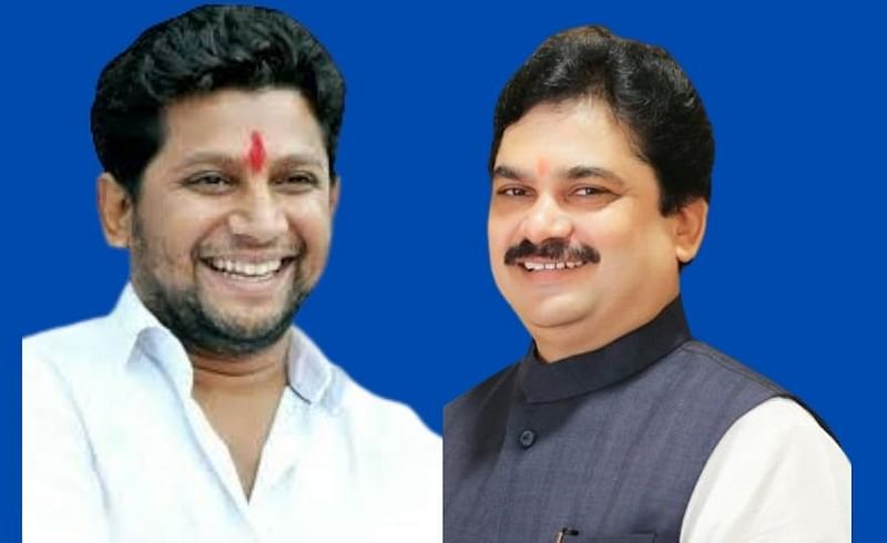 Due to Corona former Minister Prof. Ram Shinde and MP Dr. Sujay Vikhe Patils visit has been blocked