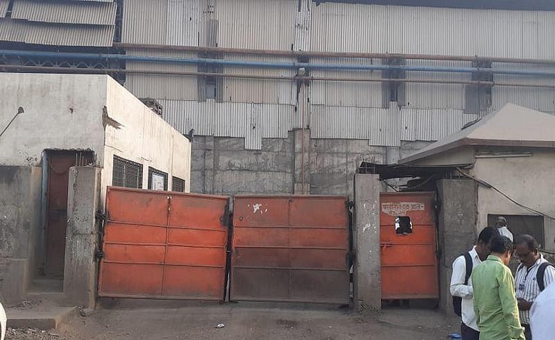 जालना : औद्योगिक वसाहतीतील ओम साई राम कारखाना.