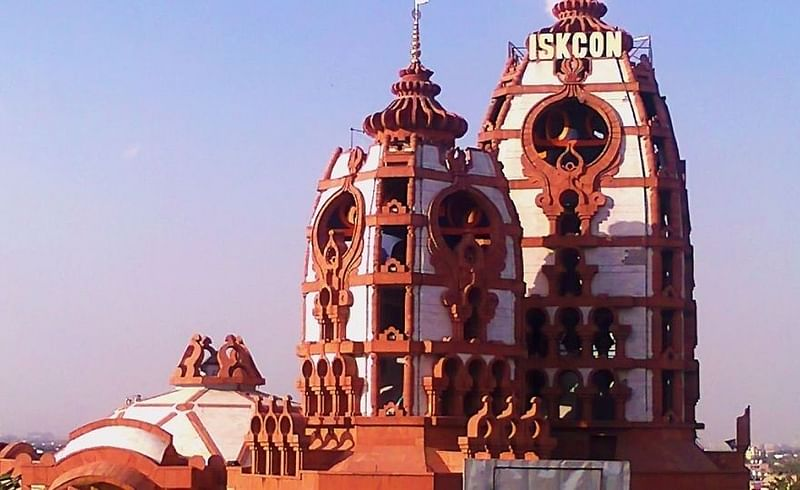know about some famous iskcon temples in india Marathi article