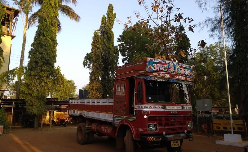 The girl crushed under a truck in Nadhwade