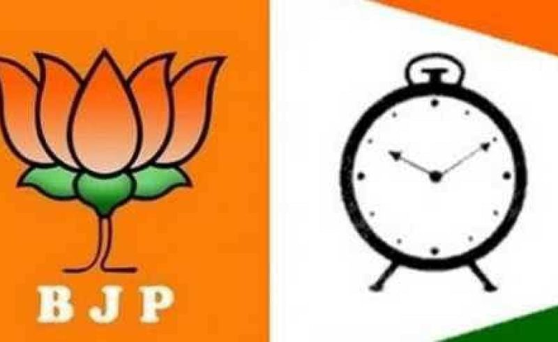 BJP and NCP Politics  from Corona in Solapur